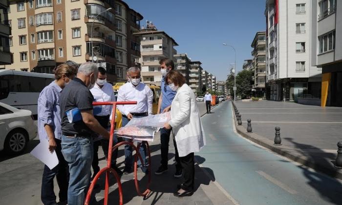 Büyükşehir Belediyesi'nden Bisiklet yolu