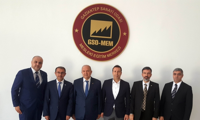 Halı ihracatçılarından GSO-MEM'e ziyaret