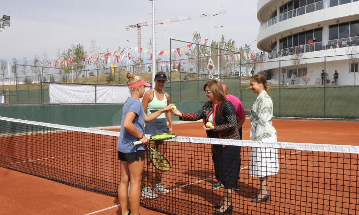 Tenis Turnuvası başlıyor