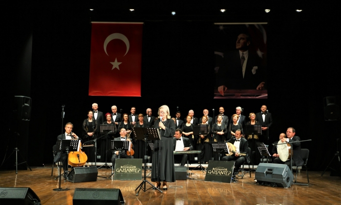 Sanatıyla markalaşan Gaziantep'te Konser