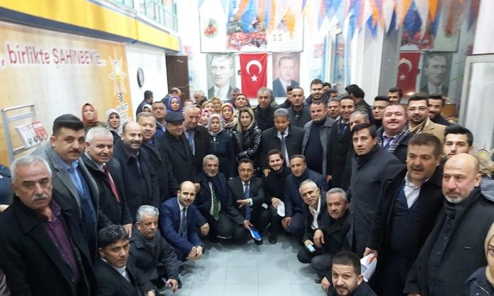 AK PARTİ ŞAHİNBEY'DEN ÇAT KAPI