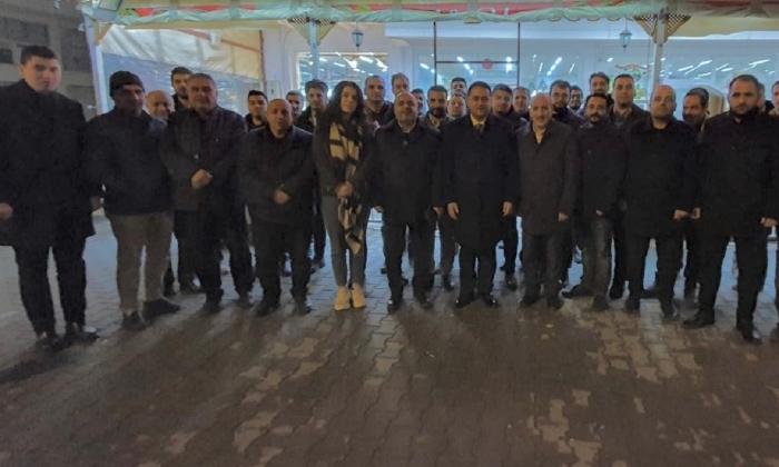 Nizip'ten Gökhan Çeliktürk'e destek