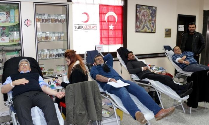 NTO'dan Kan Bağışı
