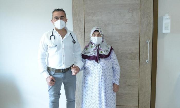 Hatem'de sağlığına kavuştu