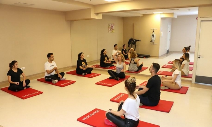 Medical Park'ta yoga günleri