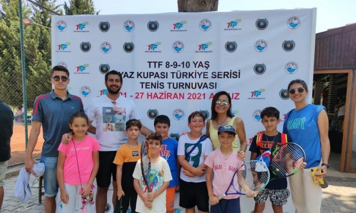 Büyükşehir'in Tenis başarısı