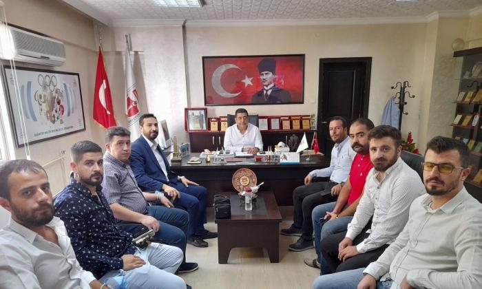 Deva Partisi'nden ASKF'ye ziyaret