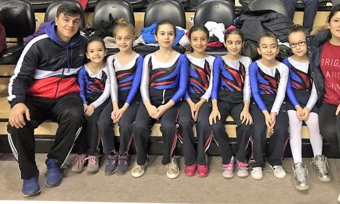 Sanko Okulu'nun Jimnastik gururu