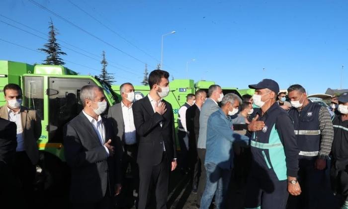 Tahmazoğlu çalışanların Bayramını kutladı
