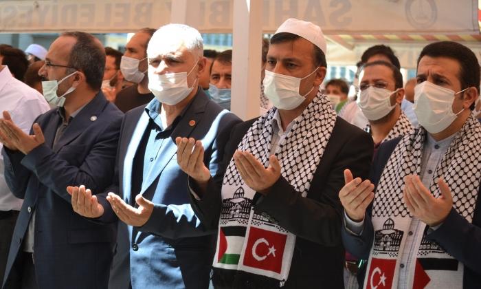 Filistin Şehitleri için gıyabi Cenaze Namazı