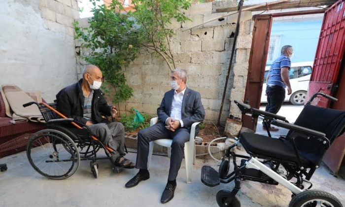 Şahinbey Engelli vatandaşın yanında