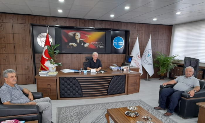 Ahmet Çelik'ten İŞKUR'a ziyaret