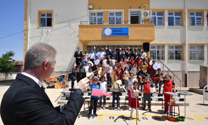 Bakan Gül, öğrencilerin hayalini gerçekleştirdi